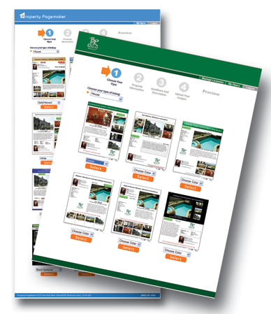 Real Estate on Bri Realty Standardizes Real Estate Flyer Designs With Property